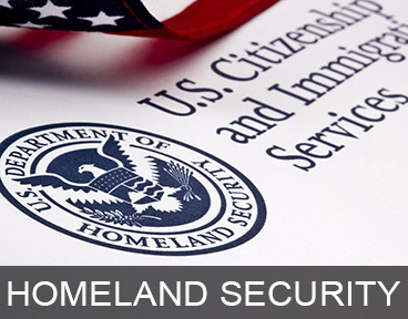 GOVERNMENT: HOMELAND SECURITY